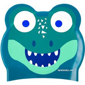 speedo Printed Character Bonnet, cosmos/emerald/aqua mint